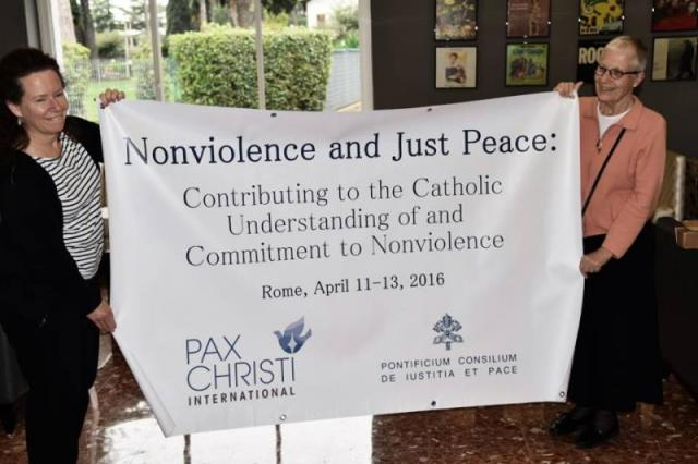 Nonviolence Justice Peace Conference banner