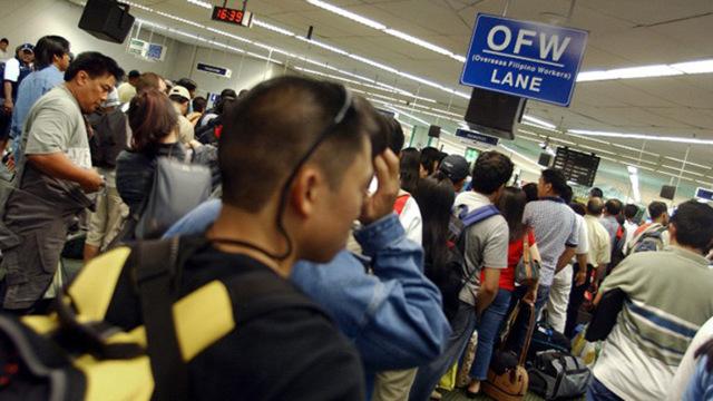 PHILIPPINES-ECONOMY-JOBS-OVERSEAS