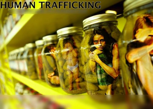 human trafficking bottles
